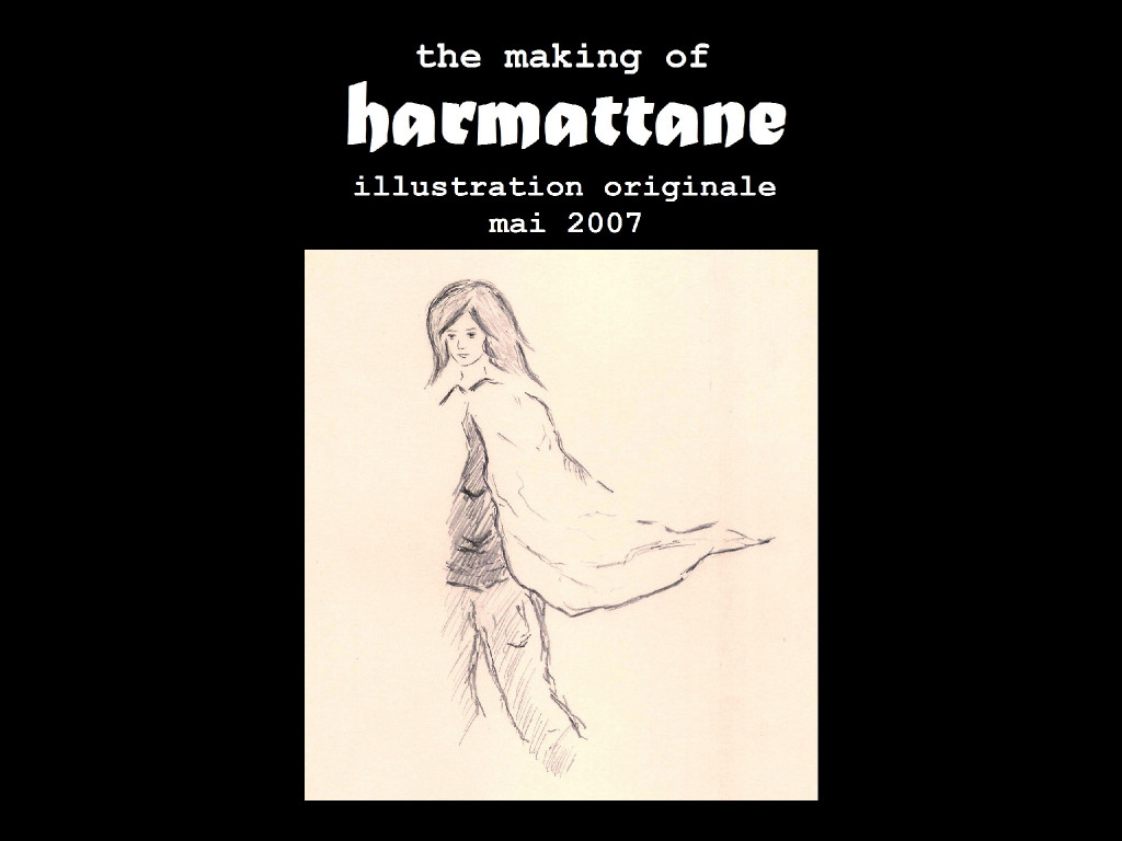 the making of Harmattane - illustration originale 2007 (4) 4-3