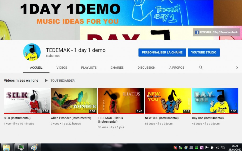 TEDEMAK youtube videos (28.01.2020)